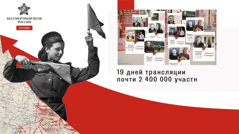 Бессмертный полк России Итоги 2020 года