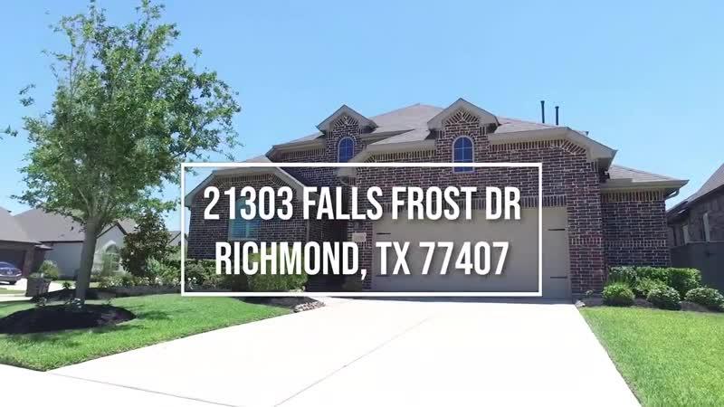 21303 Falls Frost Dr Richmond TX 77407 VO