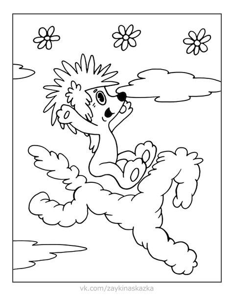 РАСКРАСКИ ДЛЯ МАЛЫШЕЙ По мультфильмам про Ёжика и МедвежонкаДРУЖБАОднажды утром Медвежонок проснулся и подумал:«В лесу много зайцев а мой друг Заяц один. Надоего как-нибудь назвать!». И стал