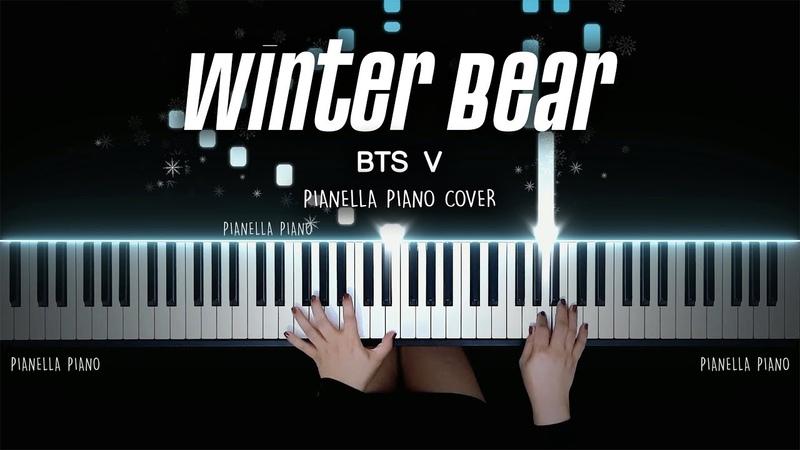 BTS V Winter Bear Piano Cover by Pianella Piano