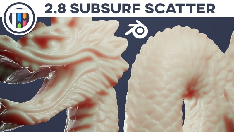 Blender 2 8 Eevee Beta Tutorial Super Simple Subsurface Scattering