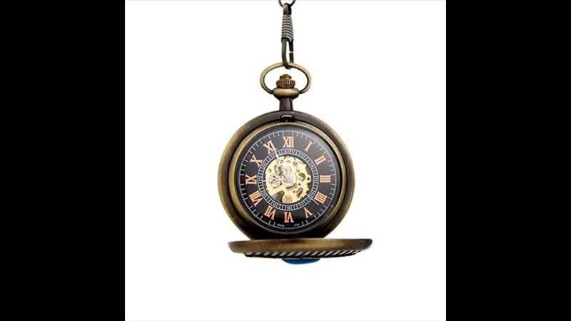 Карманные часы с голубым кристаллом купить почтой России недорого наложенным платежом
