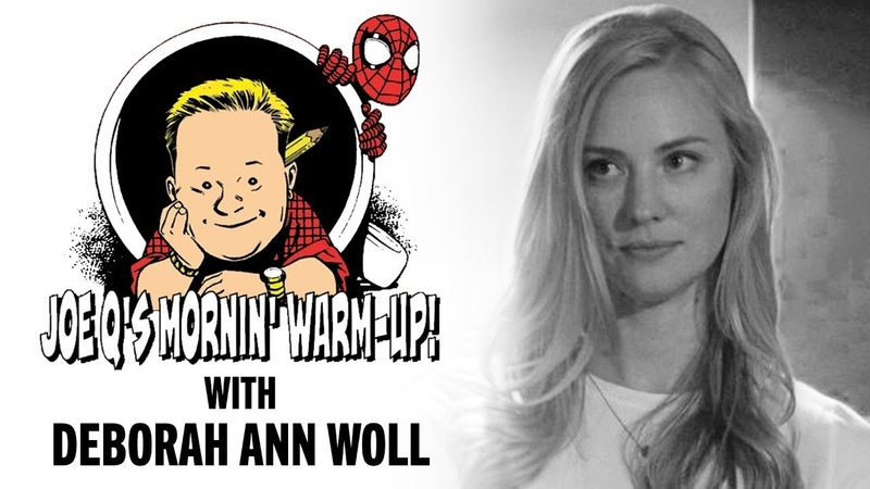 Joe Q's Mornin' Warm Up w Deborah Ann Woll Issue 5
