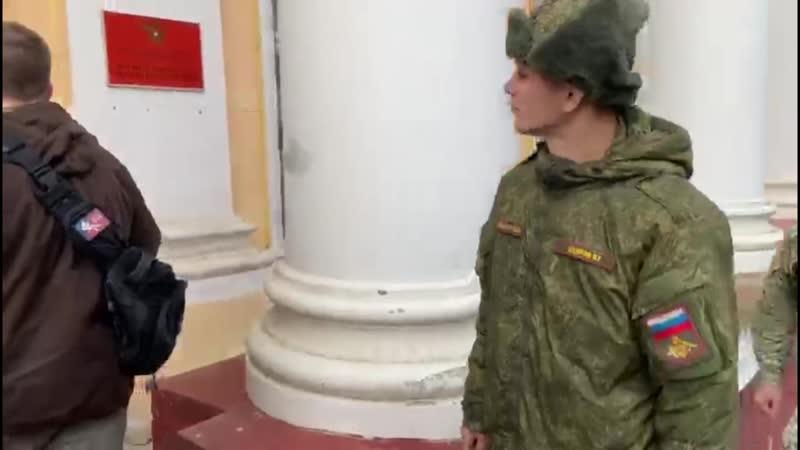 задержание рядового в Смоленске за пропаганду терроризма