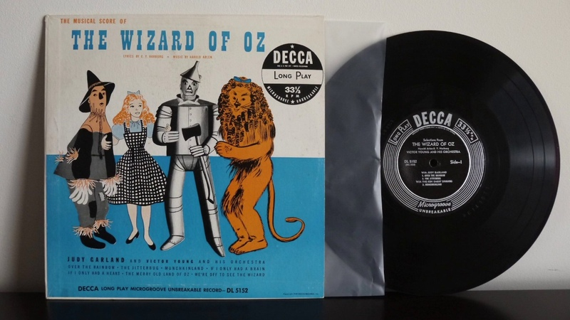 Judy Garland Victor Young The Ken Darby Singers The Wizard Of Oz 1949 Decca DL 5152