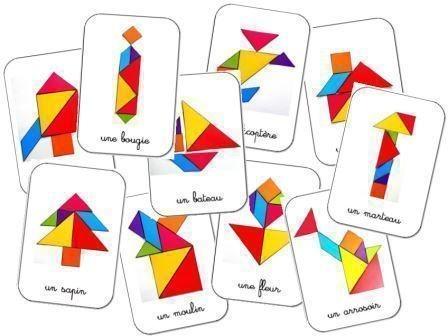 ТАНГРАМ И СХЕМЫ К НЕМУ Танграм замечательное игра-пособие, развивающее у ребенка мышление и фантазию. Из нескольких кусочков картона разных геометрических форм, оказывается, можно сложить