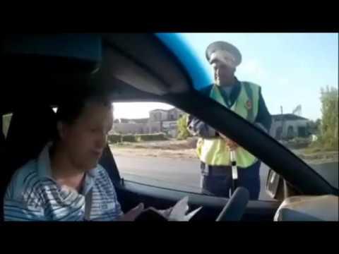 Реакция путинских гаишников на граждан СССР за рулем