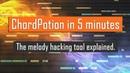 ChordPotion quickstart tutorial Chords and melody hacking