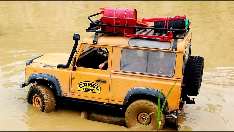 Land Rover Camel Trophy mud spa OFFROAD 4x4