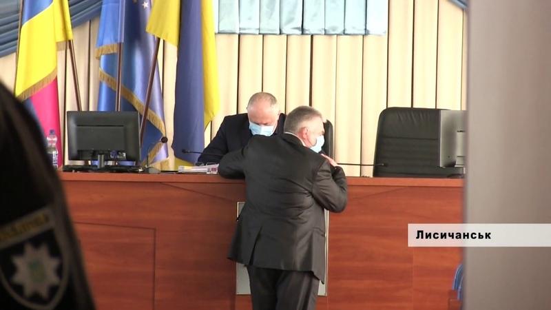 Заседание суда о захвате власти в городе Лисичанске