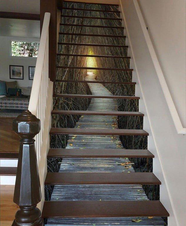 Вот это я понимаю - лестница