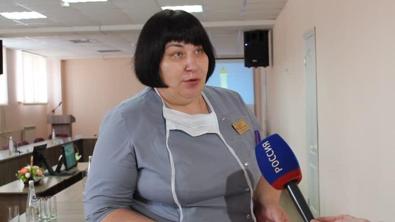 Ирина Николаевна Климова зам главноговрача ОДКБ имени Ю.Ф. Горячева