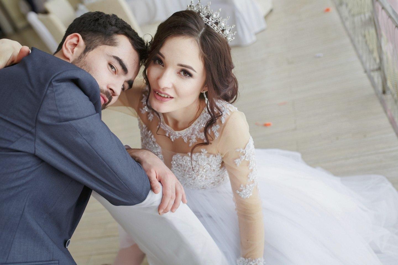 Такие разные невесты в платьях сшитых на заказ.