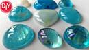 Опал голубой своими руками из эпоксидной смолы/DIY/Мастер класс