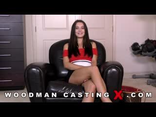 Американка Lana Rhoades решила попробовать крепость своего очка у Вудмана на кастинге