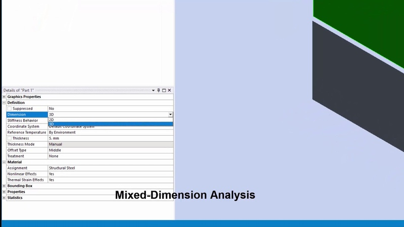 ANSYS Mechanical Whats new in 2019 R2 (Part 1 of 3)