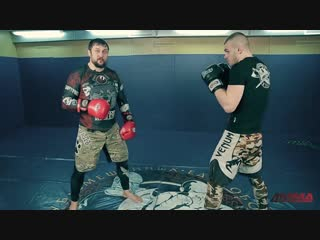 Ударная техника для ММА- мастер-класс от Романа Зенцова