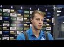 После матча с Арсеналом 23, защитник Крыльев Советов Максим Карпов ответил на вопросы журналистов