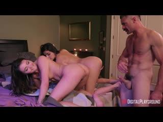 Adria Rae and Emily Willis - Private Party. Part 3 - Porno, All Sex, Hardcore, Blowjob, Threesome