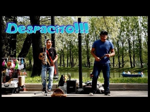 DespacitoИндейцы из группы OTAVALOS INDIAN'S зажгли в парке Победы СПб