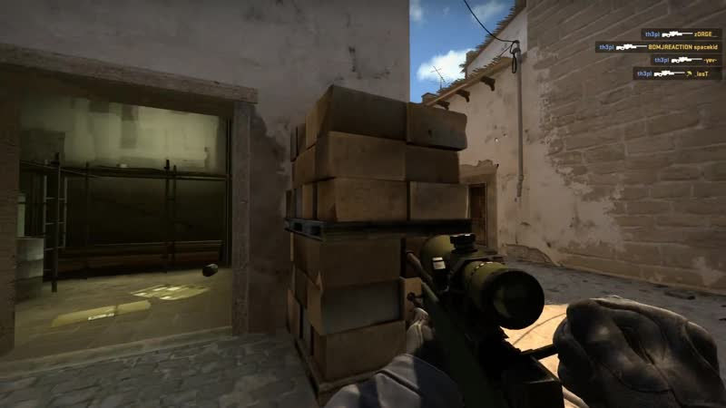 ACE WITH AWP @ de_mirage F A C E I T