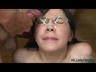 Cum Pervert Harukas Glasses Bukkake
