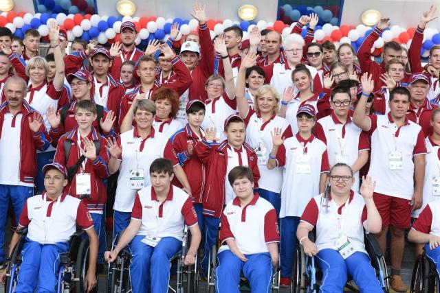Сегодня Марий Эл передаст флаг Всероссийской летней спартакиады инвалидов Татарстану
