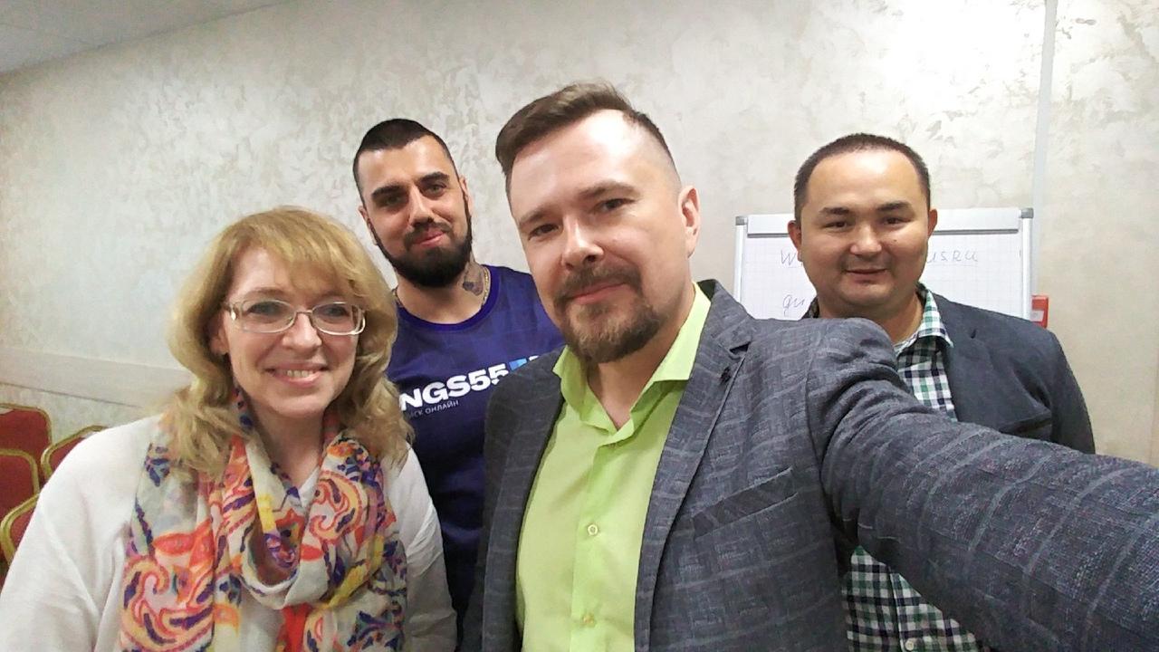 Юлий Макаров Камиль Сайфулин Александр Зубов Омск