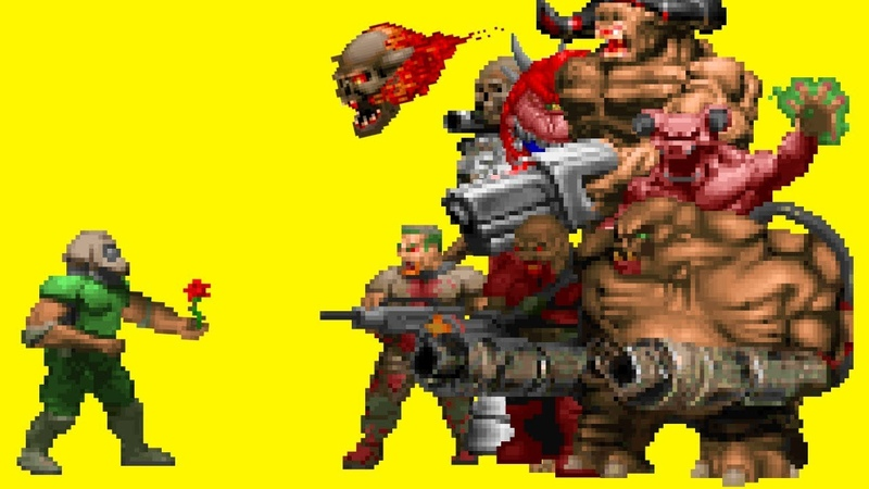 Is it Possible to Beat Doom Without Firing a Single Shot