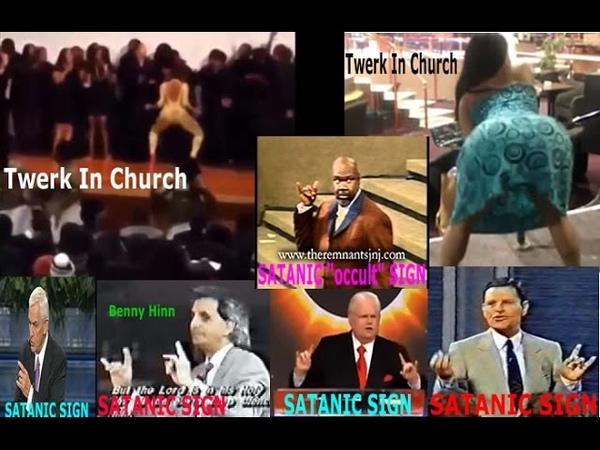 Evil Pastors TWERK DANCE in CHURCH