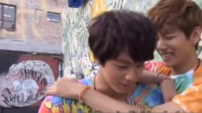 Something about the way taehyung hugged then pulled jin