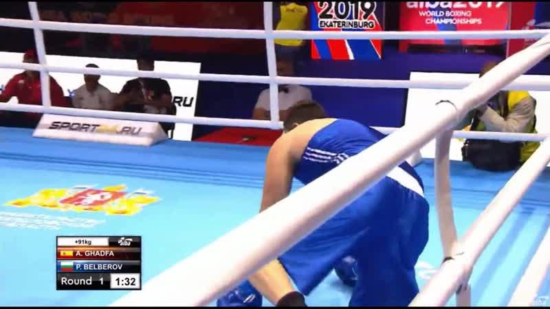 Супертяж перед боем с Кункабаевым на ЧМ-2019 победил нокаутом за 100 секунд. Видео