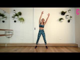 Фитнес-тренировка с Анастасией Лунеговой