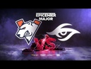 Virtus.pro vs Team Secret, EPICENTER Major, bo3, game 2 [Smile Eiritel]