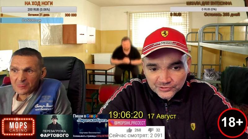 СТРИМ МОПСА И АНДРЕЯ ЩАДИЛО 17/08/2019 (ПЕРЕЗАЛИВ)