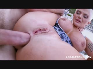 Joslyn James - Does Hot Anal Outside, juicy plumper big ass tits anal porno