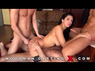 [PornoWorld] Woodman casting - KIRA QUEEN (dp, bigtits, anal, сосет, hardcore, woodman, group sex)