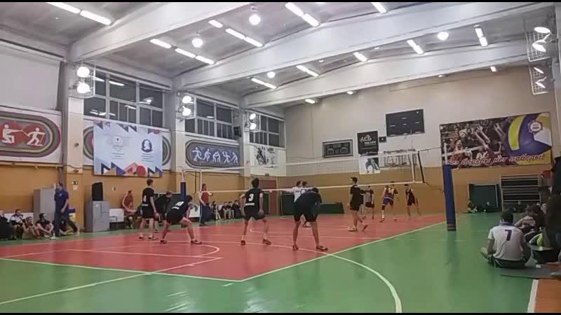 Первенство ЯрГУ по волейболу. матч за 3 место. мужчины