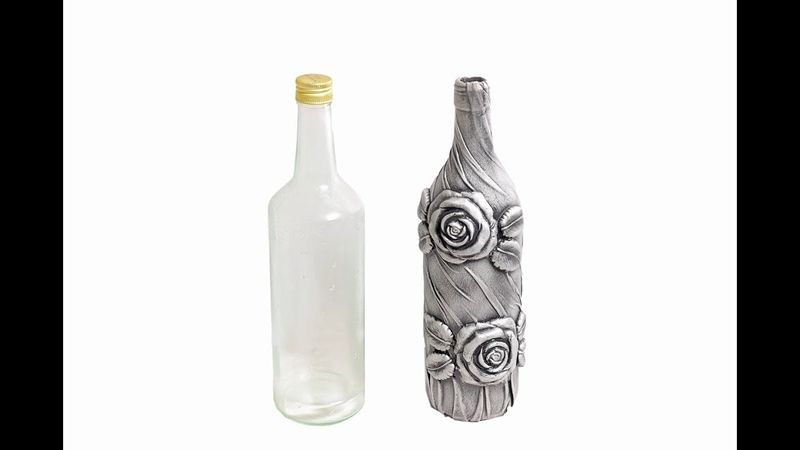 Bottle ArtWine Bottle CraftBottle TransformationBottle Decoration by MD