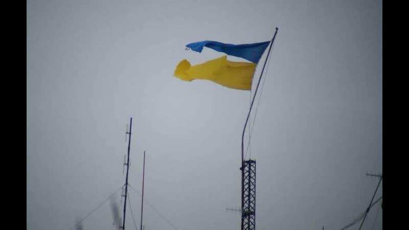 Вводружении украинского флага Главное — вовремя Убежать: «Перемога» ВСУнаДонбассе