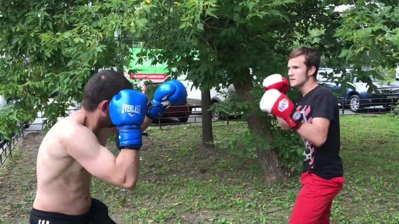 БОИ НА ПЕРЧАТКАХ YOUNG DIMON UFC ЗАМЕС С АЛКАШОМ