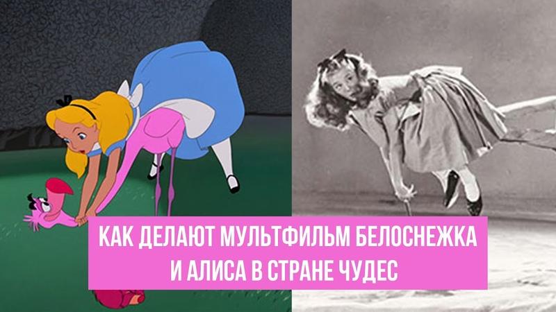 Как делают мультфильм Белоснежка и Алиса в стране чудес