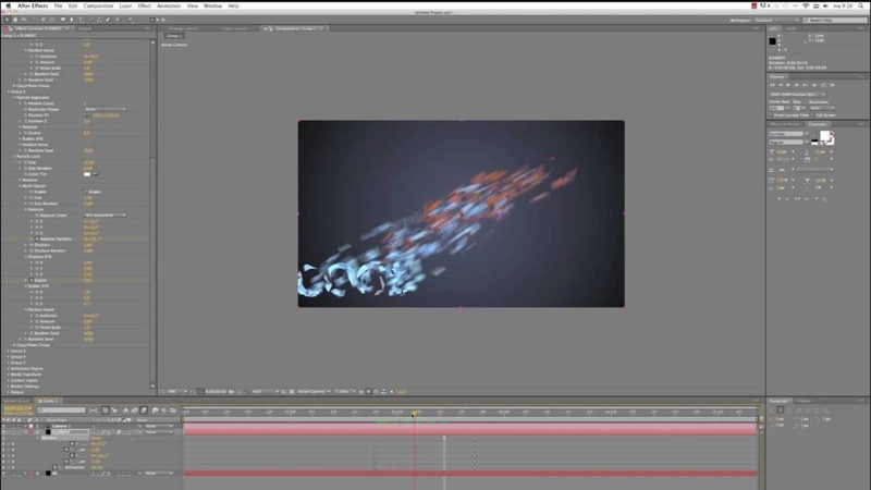 Element 3D TUTORIAL animate a fractured text