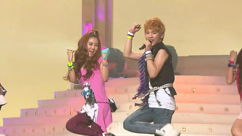 TVPP SHINee Juliette with 4minute 샤이니 줄리엣 with 포미닛 @ Show Music core Live
