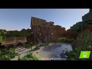 Minecraft с RTX - Карта от Aurelien