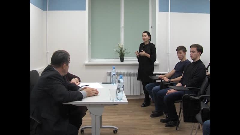 Председатель Горсобрания Виктор Кузнецов провел встречу с молодыми парламентариями Марий Эл