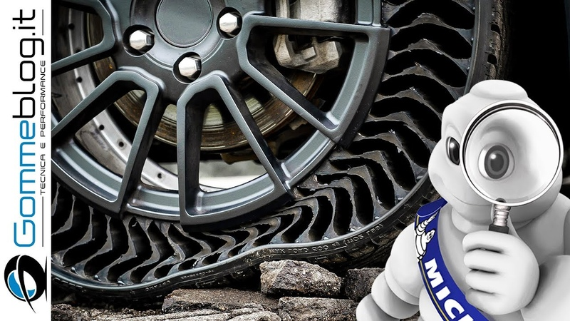 Michelin UPTIS   Airless Tire - Real Life TECH FEATURES