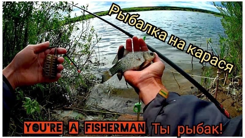 Рыбалка на Карася с Поплавком Рыбалка на Фидер МОЩНЫЕ ПОКЛЕВКИ АЖ СБИВАЮТ УДИЛИЩЕ
