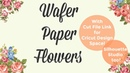 Wafer Paper Poinsetta Tutorial w PNG File | Cake and Crafts by Kass