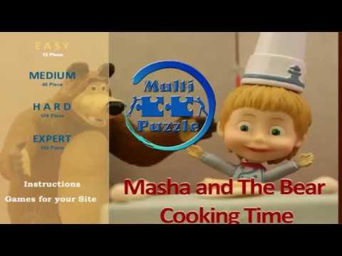 Маша и Медведь Пазл Masha and the Bear Puzzle Game
